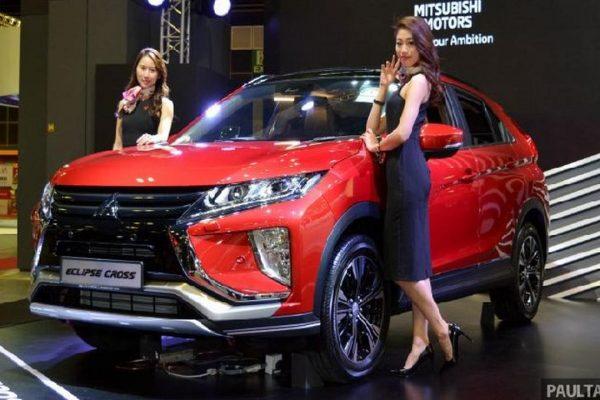 Mitsubishi Eclipse Cross Sudah Bisa Dipesan, Cek Biaya Tanda Jadinya