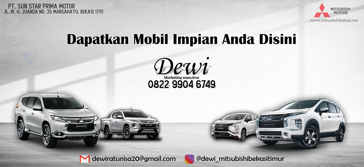 Banner Mitsubishi Bekasi By Websiters Indonesia